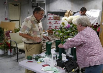Valerie Wampler's candid images at the Gettysburg, PA Dahlia Show