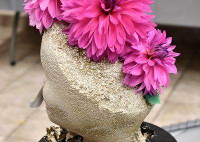 Pink Dahlia Mohawk